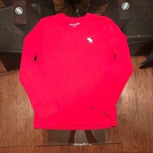 A&F kids boy's long sleeve T-shirt size 7/8